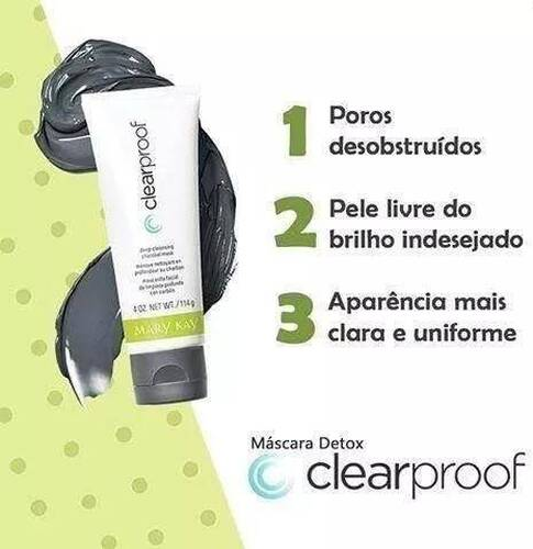 Máscara Detox Clearproof