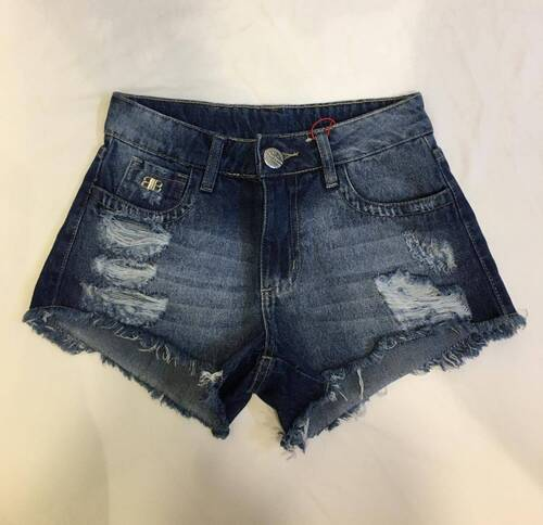 Short Curto Bless Denim