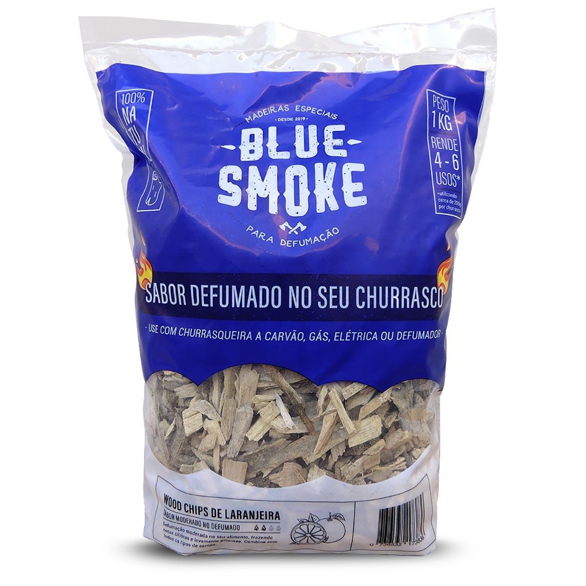 Wood Chips - Madeira Para Defumar De Laranjeira (1 kg)