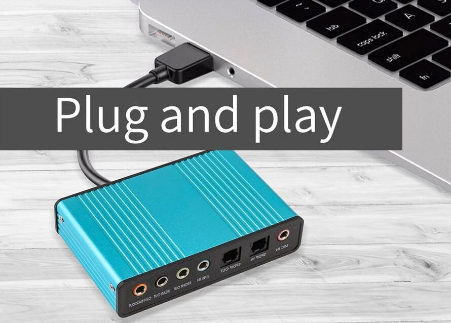 Placa de Som USB - Modelo1