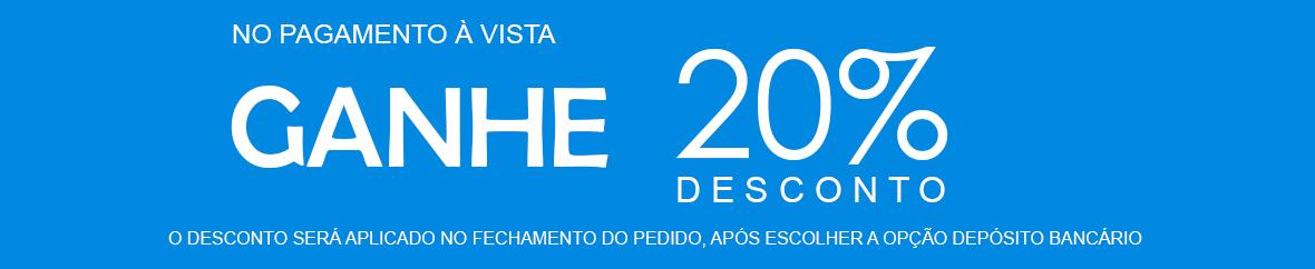 DESCONTO DE 20%
