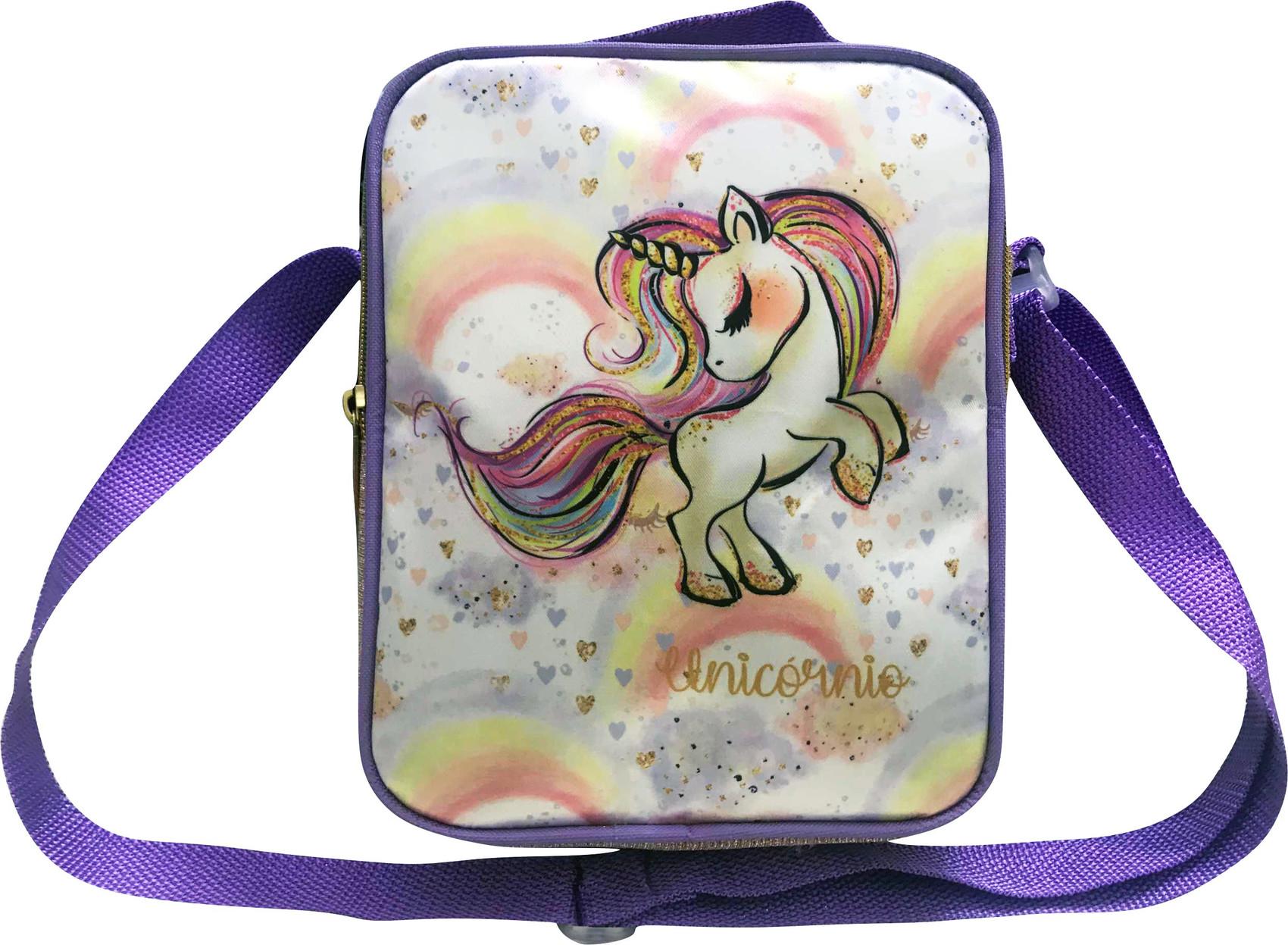 Bolsa Glitter Unicórnio