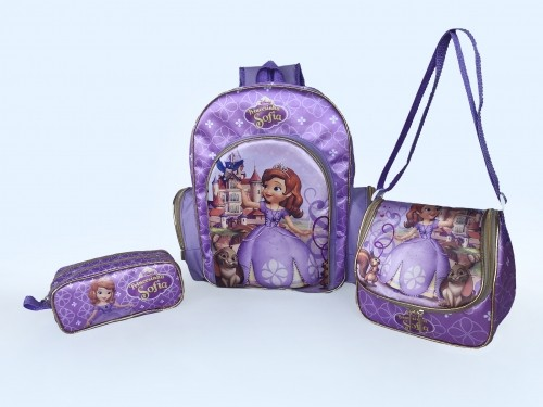 Kit Mochila Infantil sem carrinho personalizada