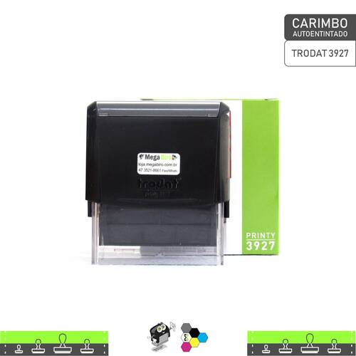 Carimbo Autoentintado TRODAT 3927