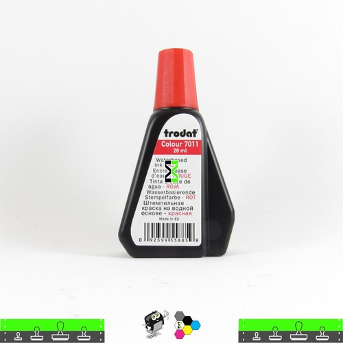 Tinta Trodat Vermelha para Carimbo Autoentintado