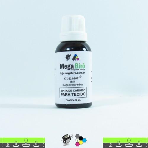 Tinta de Tecido para Carimbos - Verde 30 ml