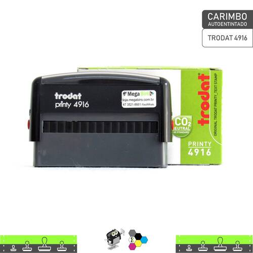 Carimbo Autoentintado TRODAT 4916