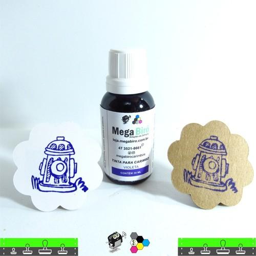 Tinta Violeta para carimbo - 30 ml