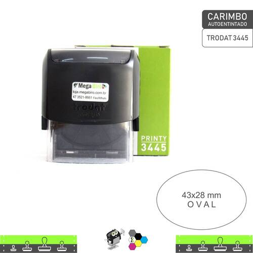 Carimbo Autoentintado TRODAT 3445