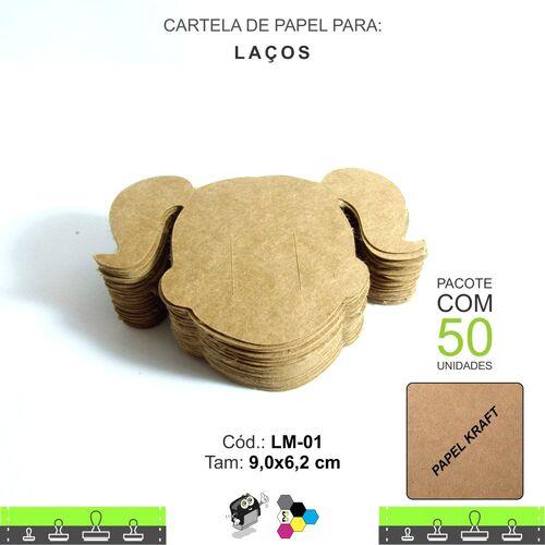 Cartela para Laço - Cabeça de Menina - LM01