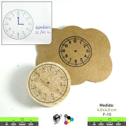 Carimbos Bonitos de Madeira, baby Maternidade, Relógio Anotações - F15