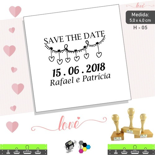 Carimbo Save the Date 04 - Casamento - H 05