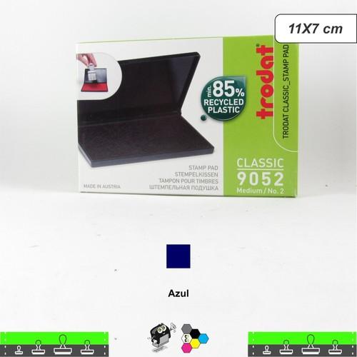 Almofada Para Carimbos Tinta Azul - 11x7 cm Trodat 9052