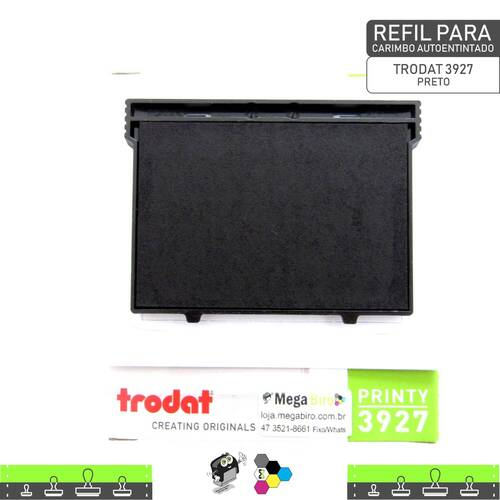 Refil TRODAT 3927 - para Carimbo Autoentintado