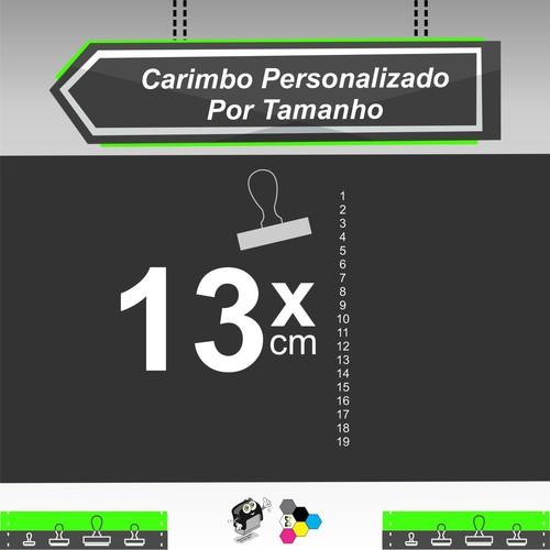 Carimbo Personalizado 13 cm