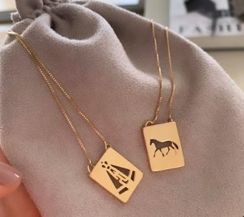 Escapulário Cavalo/Nossa Senhora