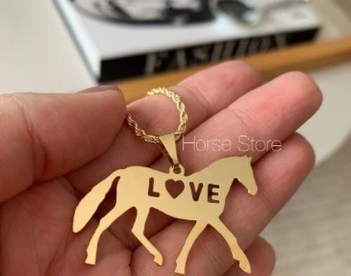 Colar Cavalo LOVE