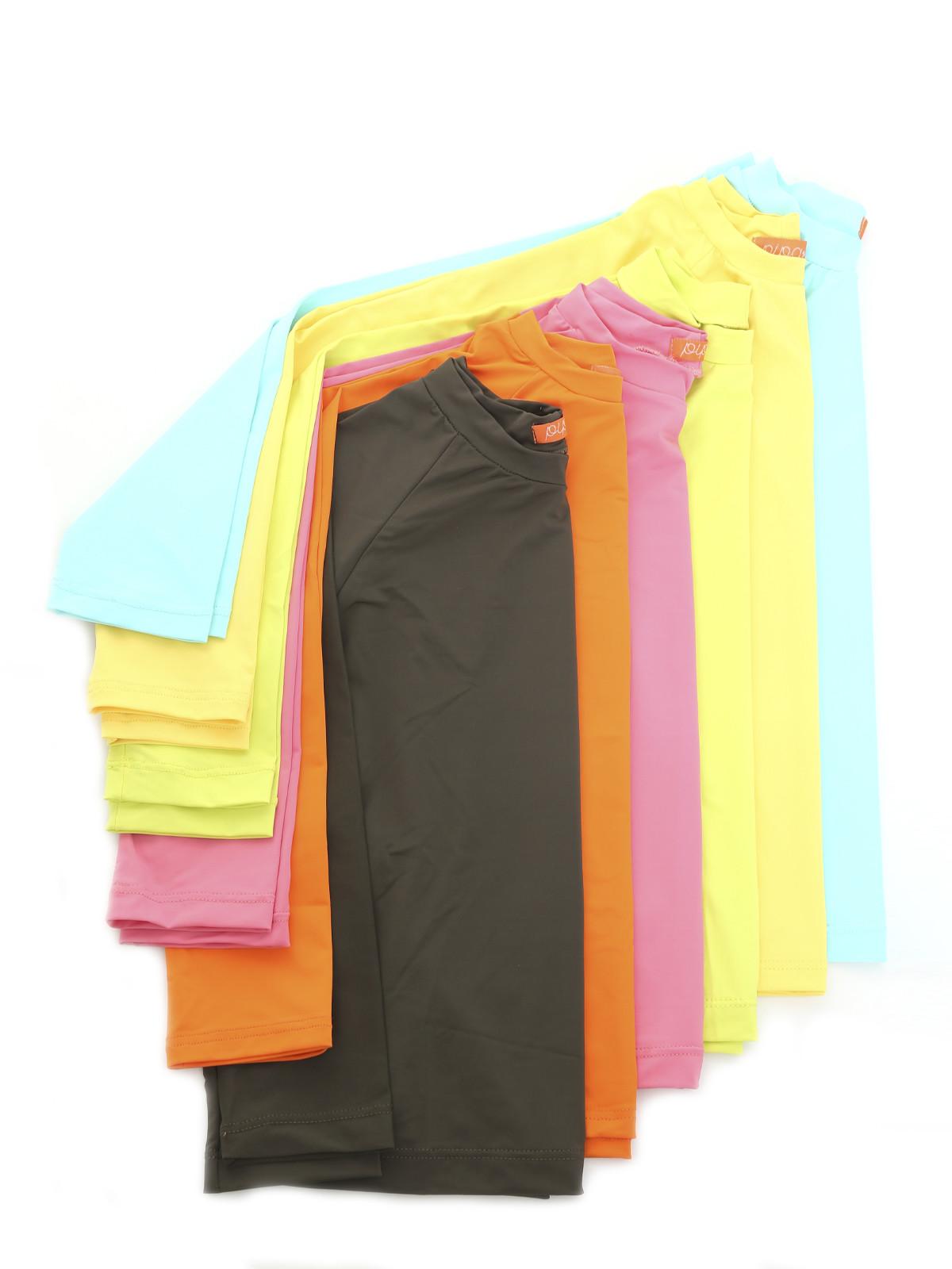 Camiseta UV Manga Longa Laranjada Unisex