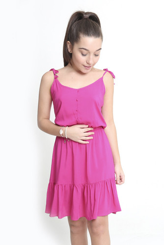 Vestido Azelha Pink