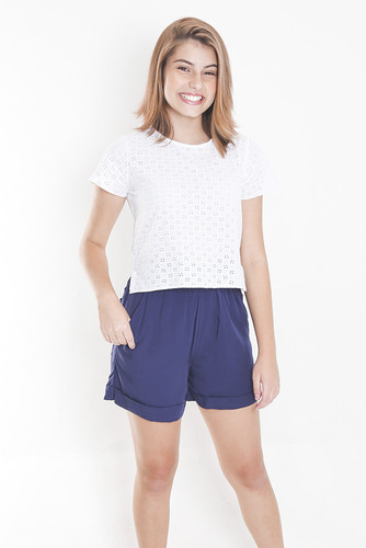 Short Clochard Marinho