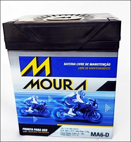 MA6-D MOURA (Venda condicionada à devolução da bateria inservível)
