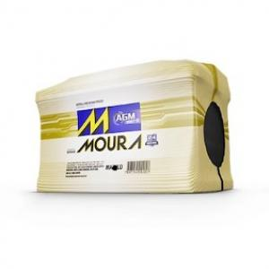 Bateria Moura agm 12v ma80cd start-stop