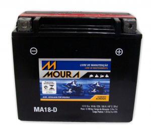 Bateria MA18ah moura (Venda condicionada à devolução da bateria inservível)