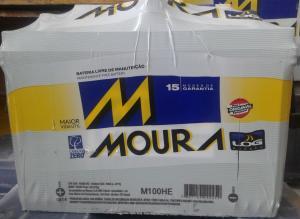Bateria  100AH Moura (Venda condicionada à devolução da bateria inservível)