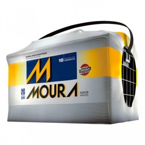 Bateria  70AH Moura 18 meses De Garantia (Venda condicionada à devolução da bateria inservível)