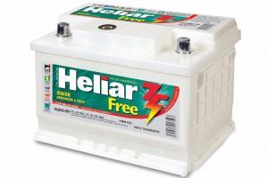 Bateria  60AH Heliar 2anos de garantia