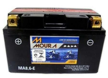 Bateria ma8,6-E moura (Venda condicionada à devolução da bateria inservível)
