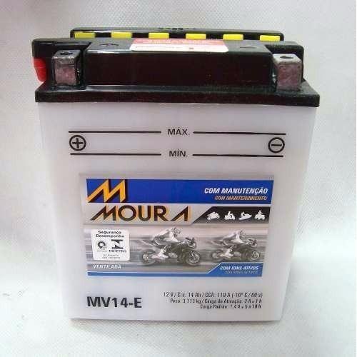 MV14-E MOURA MOTO Venda condicionada à devolução da bateria inservível)