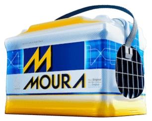 Bateria 60gd Moura ((Venda condicionada à devolução da bateria inservível)