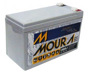 Bateria 12MVA-7 MOURA ESTACIONARIA NOBREAK