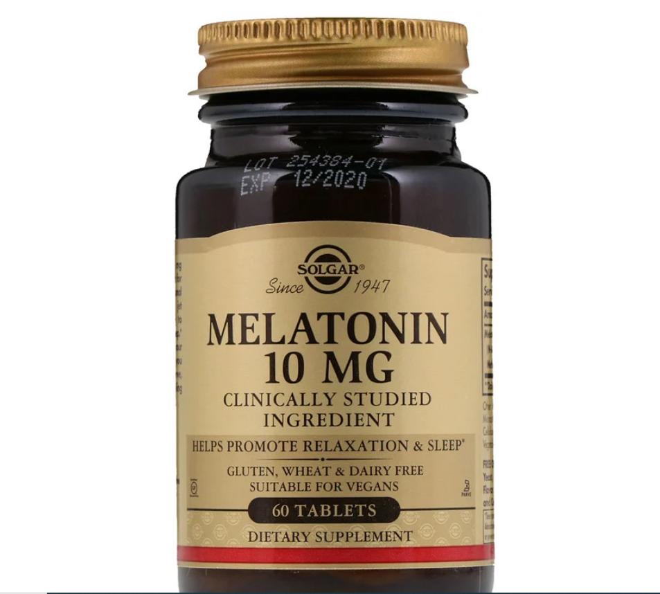 Melatonina 10 mg - Solgar - 60 Tablets