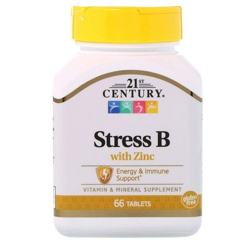 Stress B com Zinco - 21 ST Century - 66 tabletes