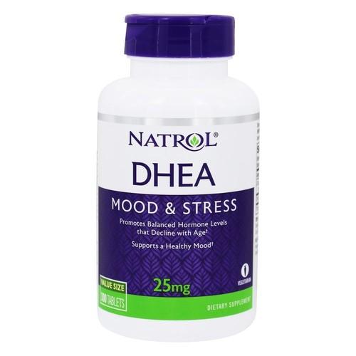 DHEA 25 mg  - NATROL - 300 comprimidos  - (Envio Internacional)