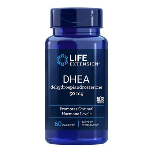 DHEA 50 mg - Life Extension - 60 cápsulas (Envio Internacional)