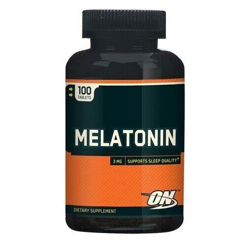 Melatonina 3 mg - Optimum Nutrition - 100 tabletes