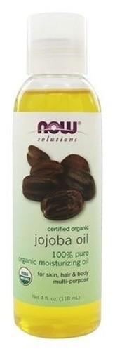 Óleo de Jojoba 100 % Puro (saúde do couro cabeludo e pele) - Now Foods - 118 ml