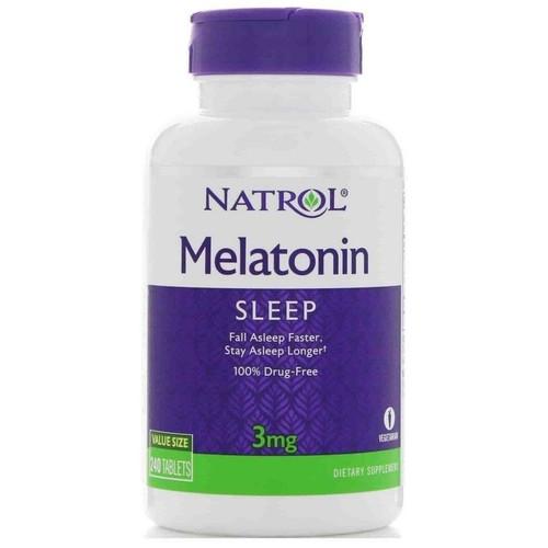 Comprar Melatonina 3 mg - Natrol 240 tablets