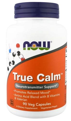 True Calm - Now Foods - 90 Cápsulas