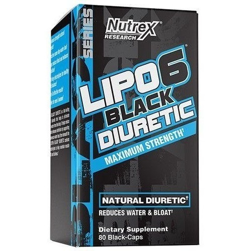 Lipo 6 Diurético - Nutrex - 80 Cápsulas (Fórmula Importada)