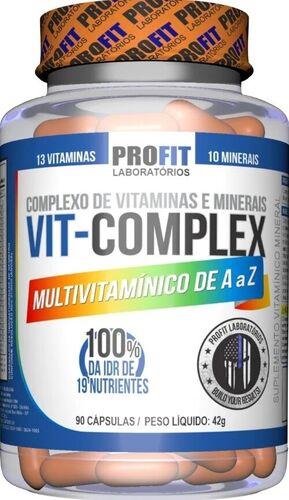 Multivitamínico Vit Complex A - Z - Proft Labs - 90 Cápsulas