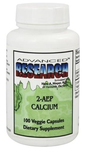 Calcium 2-AEP - Fosfoetanolamina - Advanced Research - 100 cápsulas (Envio Internacional)