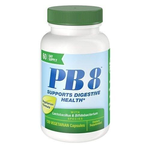 Pb8 Probiótico 14 bilhões - Now Nutrition - 120 Cápsulas