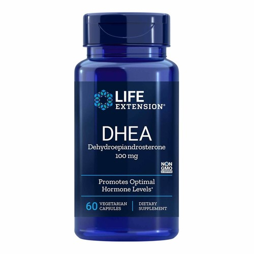 DHEA 100 mg - Life Extension - 60 cápsulas