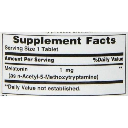 Melatonina 1 mg - Nature´s Bounty - 180 comprimidos (hormônio do sono)