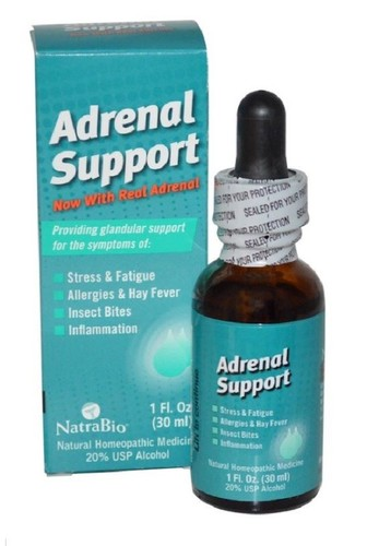 Kit 2 x Adrenal Support - NatraBio - Total 60 ml