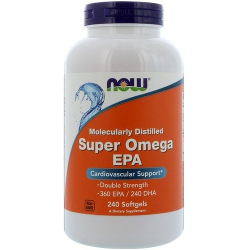 Super Ômega 3 EPA - Now Foods - 240 Softgels